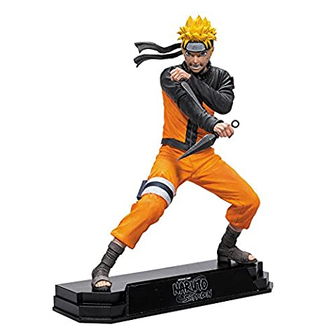 Naruto Shippuden Naruto 7 inch Color Tops Action Figurine