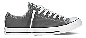 CONVERSE Chuck Taylor All Star Seasonal Ox, Unisex-Erwachsene Sneakers, Grau (Charcoal), 41 EU EU