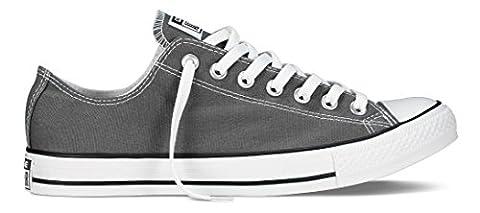 CONVERSE Chuck Taylor All Star Seasonal Ox, Unisex-Erwachsene Sneakers, Grau (Charcoal), 40 EU