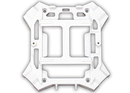 Traxxas Chassis INFERIEUR Blanc - Alias