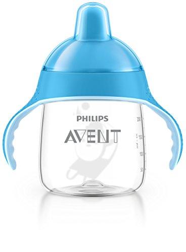 Philips Avent SCF753/05 Tazza con Beccuccio Resistente ai Morsi e Valvola Anti-Goccia, 260 ml, Azzurro