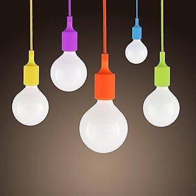 Illuminazione jiaily Mini telecomando, 1 spia, moderno e minimalista caramella di Silicone colori , 220 V-verde
