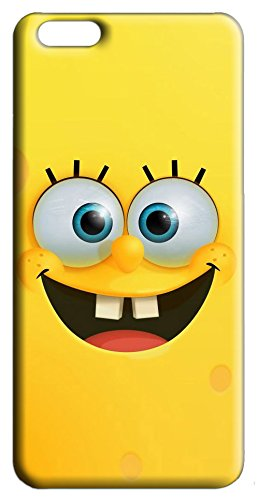 Mixroom - cover custodia case in tpu silicone morbida per apple iphone 7 v321 spongebob