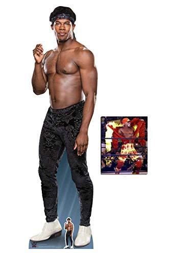 (BundleZ-4-FanZ Velveteen Dream WWE Lebensgrosse und klein Pappfiguren/Stehplatzinhaber/Aufsteller Fan Pack, 187cm x 53cm Enthält 8X10 (25X20Cm) starfoto)