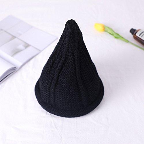 Top-Hat, Farbe Herbst Und Winter Warm, Schwarz, M (56-58 Cm). (Schwarz Tophat)