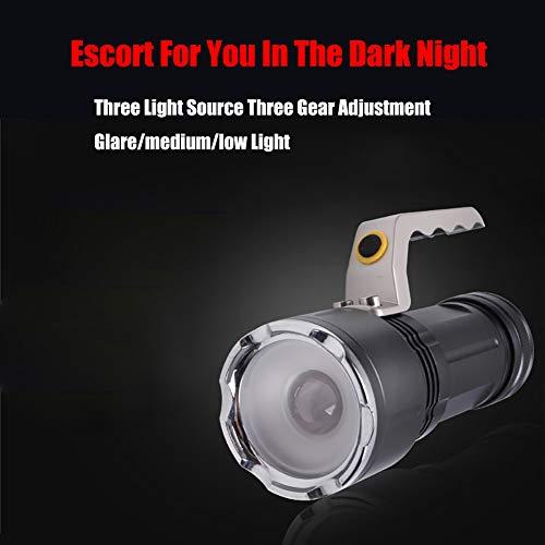 Zoom IMG-1 torcia led ricaricabile super luminoso