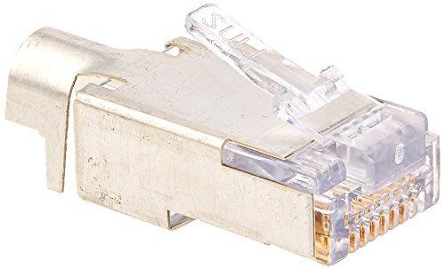 Platinum Tools 100022 EZ-RJ45 Abgeschirmt Cat5e/6 externer Boden, von Platinum Tools -