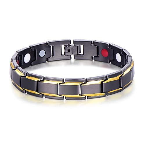 KANKOO Magnet-Armband Armband Gliederkette Anti-Cellulite Gewicht Verlieren Abnehmen des Produkts Bangles Schmuck Frauen Männer Schmuck Gewichtsverlust Produkt Gold