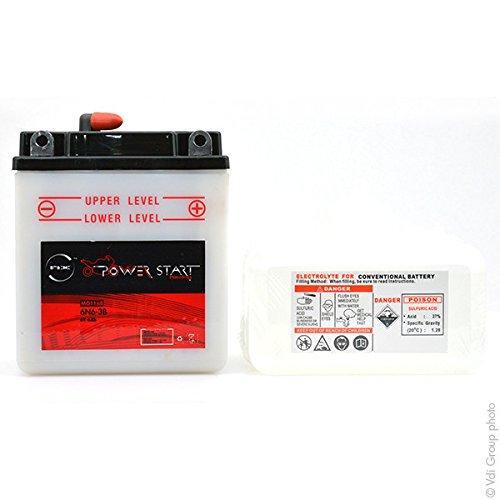 NX - Batteria moto 6N6-3B 6V 6Ah