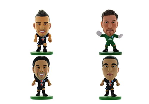 Soccer Starz ss4ppsgd Paris St Germain Club Blister Player Pack D in Box (4 Stück) -