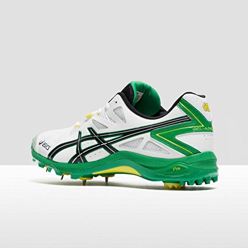 Asics Gel-advance 6, Chaussures de Cricket  homme Blanc (White)