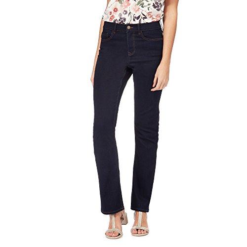 b78744854c122 Rjr.John Rocha Womens Dark Blue Mid Wash 'Jenna' Slim Bootcut Jeans 14S