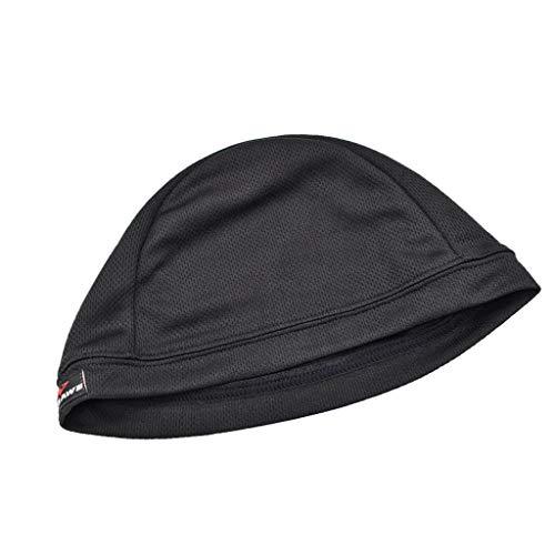 Fenteer Outdoor Sportmütze Skull Cap Beanie Unter Dem Helm Unterziehmütze Helmmütze Fahrrad Mütze für Herren Damen