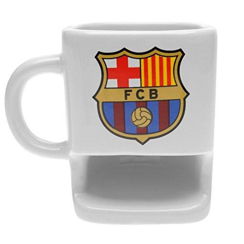 Taza de galletas con diseño del club de fútbol del Barcelona FC, ideal como regalo para los fans