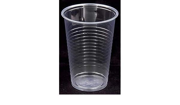 Einweg Becher Kunststoff Transparent Trinkbecher 200ml Plastikbecher 800 Stück