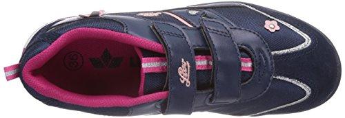 Lico Larissa V Mädchen Sneakers Blau (marine/pink/rosa)