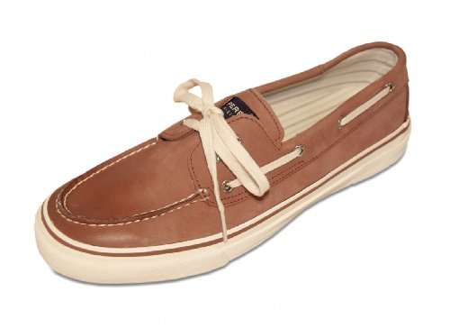 Sperry Top-Sider Herren Bootsschuh Men's Bahama Brick Burnished Leather rotbraun, Größe:40.5