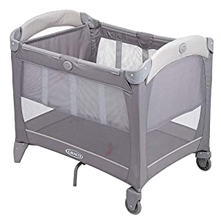 Graco Contour Bassinet Travel Cot, Paloma