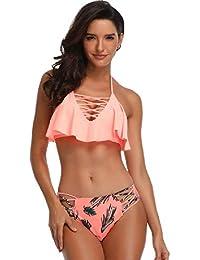 super popolare 72a73 97d89 Amazon.it: Costume Vita Alta - Slip, tanga e culotte ...