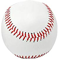 JullyelegantES Pelota de Béisbol, Práctica Dura Bullet Rounders Ball, Béisbol Individual de la Liga Oficial, Ejercicio tee Ball Recreational Home Run