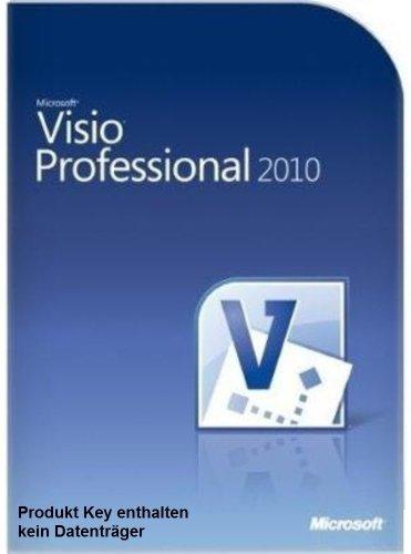 Microsoft Visio 2010 Professional Vollversion deutsch 1PC (ohne Datenträger) (Ms 2010 Visio)