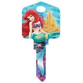Howard Keys House Key Themed Disney Sc1 Ariel And Friends by Hillman Fasteners