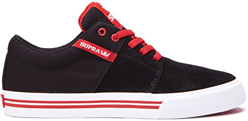 Supra Stacks II VULC Junior Trainer (Probe) – Schwarz, Schwarz, UK 13J