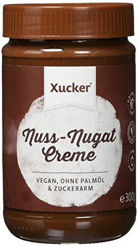 Nuss-Nugat-Creme mit Xylit ohne Palmöl (300 g) | Frühstücken mit Xucker | Ohne Gentechnik | Vegan | zuckerarm | 33 {930bf3b2a75ca3ac158c96ccbf86359d56141d990f4e03442cad8e45bc473ccf} Haselnüsse