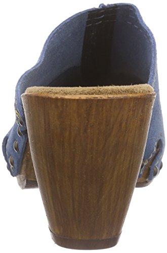 Tamaris 27300, Sabots femme Bleu (Denim 802)