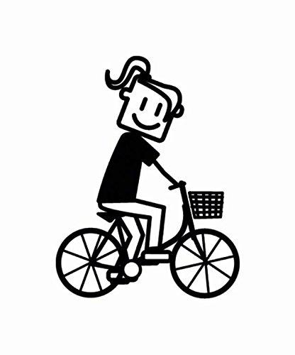 ALTIUM 3007179 Bande Décorative Autocollant Vélo, Noir