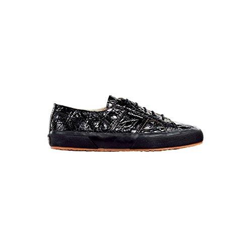 Scarpe Le Superga - Estreme 2750-crocodile FULL BLACK