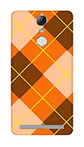 SWAG my CASE PRINTED BACK COVER FOR LENOVO K5 NOTE Multicolor