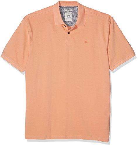 LERROS Große Größen Herren Poloshirt Lerros Polo Größen Orange (canyon Sunset 907)