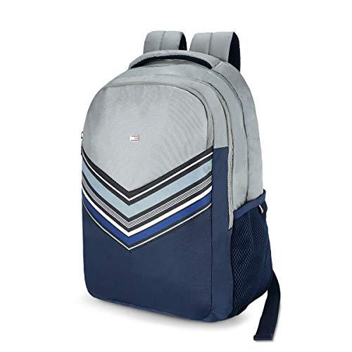 Tommy Hilfiger Rene 25 Ltrs Light Grey Laptop Backpack (TH/RENELAP07) Image 2