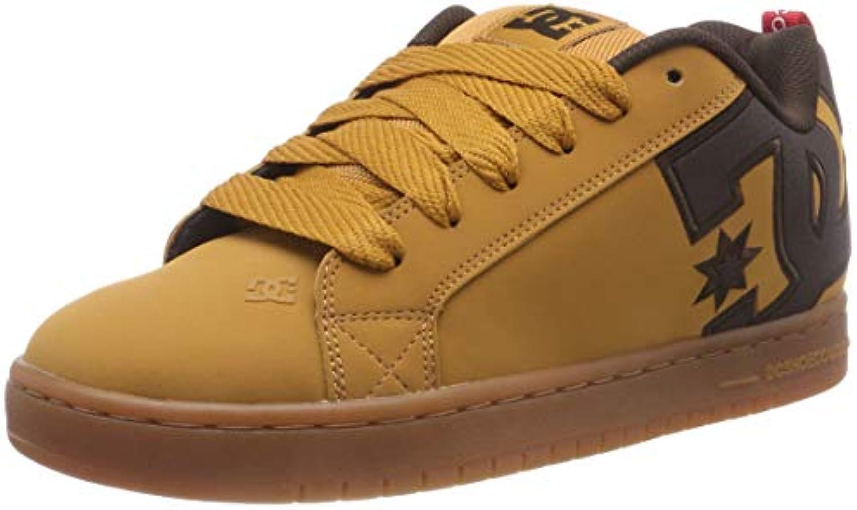 DC Shoes Court Graffik Se, Zapatillas de Skateboarding para Hombre  -