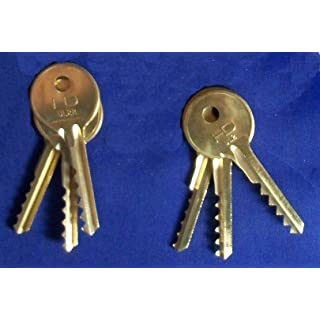 Universal 6 Piece Standard & REVERSE 5/6 Lever Bump Keys
