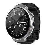 Konnison-09 4G Bluetooth Smart Watch, Android 7.0 Uhr Telefon LTE 4G SmartWatch Telefon Herzfrequenz 1 GB + 16 GB mit Kamera für Android/IOS Voice Assistant, Übersetzungswerkzeug,Gray