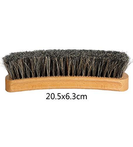 YUDEYU Reinigungsbürste Haushalt Natürlich Ballaststoff Handbuch Schuhe Waschen Schuhcreme Entstaubung Werkzeug (größe : 20.5x6.3cm)