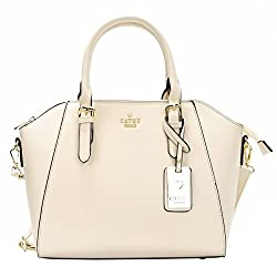 Cathy London Womens Handbag, Material- Synthetic Leather, Colour- Beige