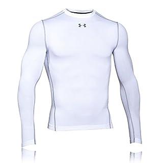 Under Armour Herren UA CG Armour Crew Fitness-Sweatshirts, White, L