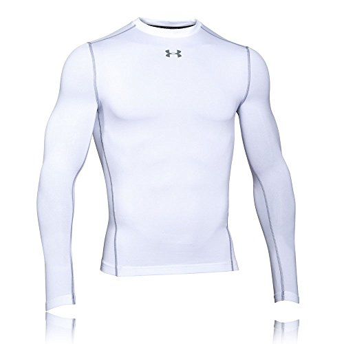 Under Armour Herren UA CG Armour Crew Fitness-Sweatshirts, White, L