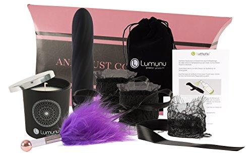 Deluxe Verwöhnset Ana's Lust Collection, 5 teiliges BDSM Geschenk-Set, limitierte Erotik Box für Paare