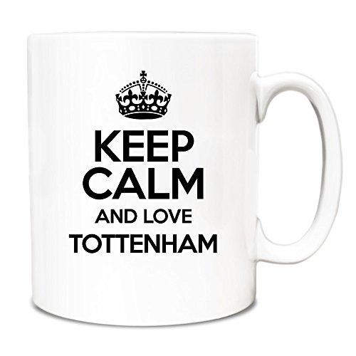 BLACK-Keep-Calm-and-Love-Tottenham-Mug-TXT-0673