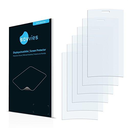 6x Savvies SU75 UltraClear Bildschirmschutz Schutzfolie Lumigon T2 (Kristallklar, Blasenfreie Montage, Passgenauer Zuschnitt)