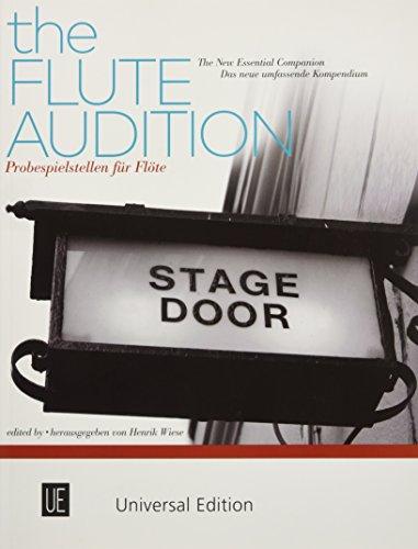 Probespielstellen für Flöte: Das neue umfassende Kompendium für Flöte. Wiese Musik