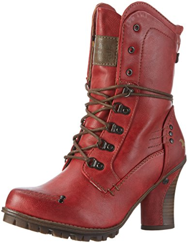 Mustang 1141-609, Stivaletti Donna, Rosso (5 Rot), 41 EU