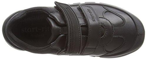 Start-Rite - Sr Warrior Large, Sneaker Bambino Black (Black)