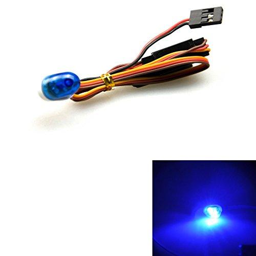 XUNJIAJIE Blau 1/10 RC Auto Blinken Krankenwagen Lichter Notfall-Lichter Licht für RC 1/10 Car Truck Buggy Dekoration (# A)