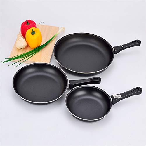 YDCDKING Brat- & Universalpfannen Antihaftbratpfanne kleine Bratpfanne Omelettpfannen-Edelstahlwanne, 25CM