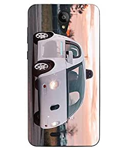 Case Cover Printed Multicolor Soft Back Cover For Swipe Konnect Plus